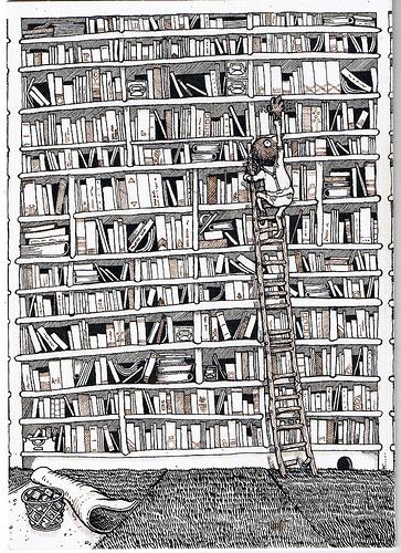 Cartoon - Leitura